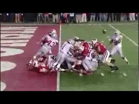 1db3b1d3f Ryan Shazier goal line stand-Hug Hit forces fumble-Ohio State Football