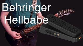 Behringer HB01 Hellbabe Wah Demo