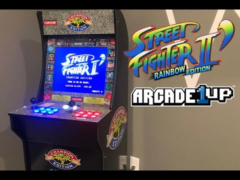 Street Fighter II Rainbow Edition - Arcade1up from Richie Ace