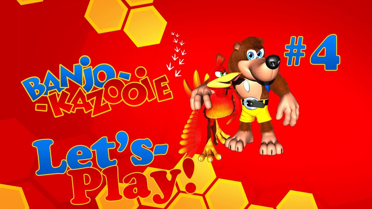 Banjo Kazooie - Let's Play & Commentary! (Part 4) - YouTube