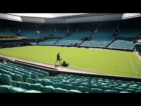 Centre Court receives first cut ahead of The Championships 2017