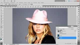 Выделение объекта в фотошоп.mp4