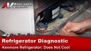 Kenmore & Whirlpool Refrigerator - Not cooling or freezing - Diagnostic & Repair