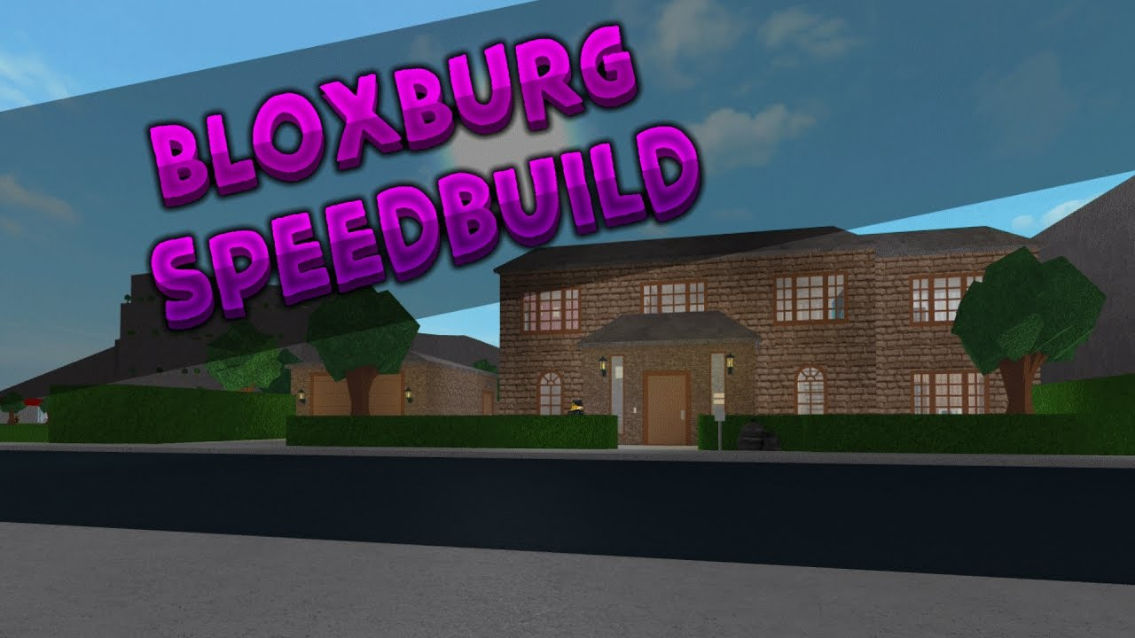 ROBLOX BloxBurg Suburban House SpeedBuild YouTube