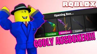 EIN GODLY AUSBOXEN!!! | ROBLOX Murder Mystery 2 (Deutsch)