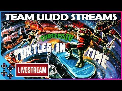 TEAM UUDD STREAMS: TURTLES IN TIME! – UpUpDownDown Streams
