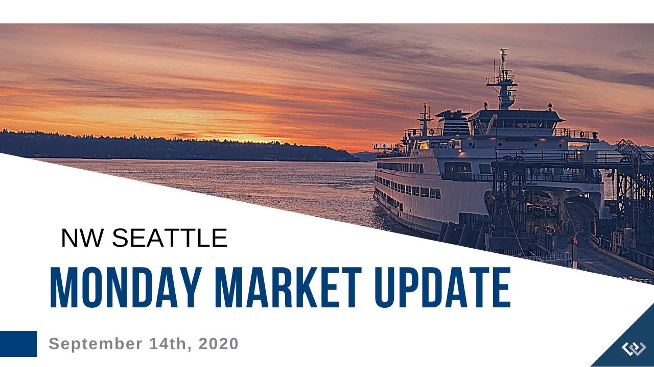 Monday ​NW Seattle Real Estate Market Update | September 14th, 2020