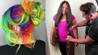 Top Amazing Hairstyles Compilation 💎 Viral Hair Videos on Instagram 2018