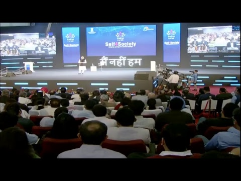 PM Shri Narendra Modi's Townhall interaction with IT professionals on Self4Society