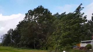 Sturm Nordsee 13.09 2017 es geht Los 120 - 140 Kmh