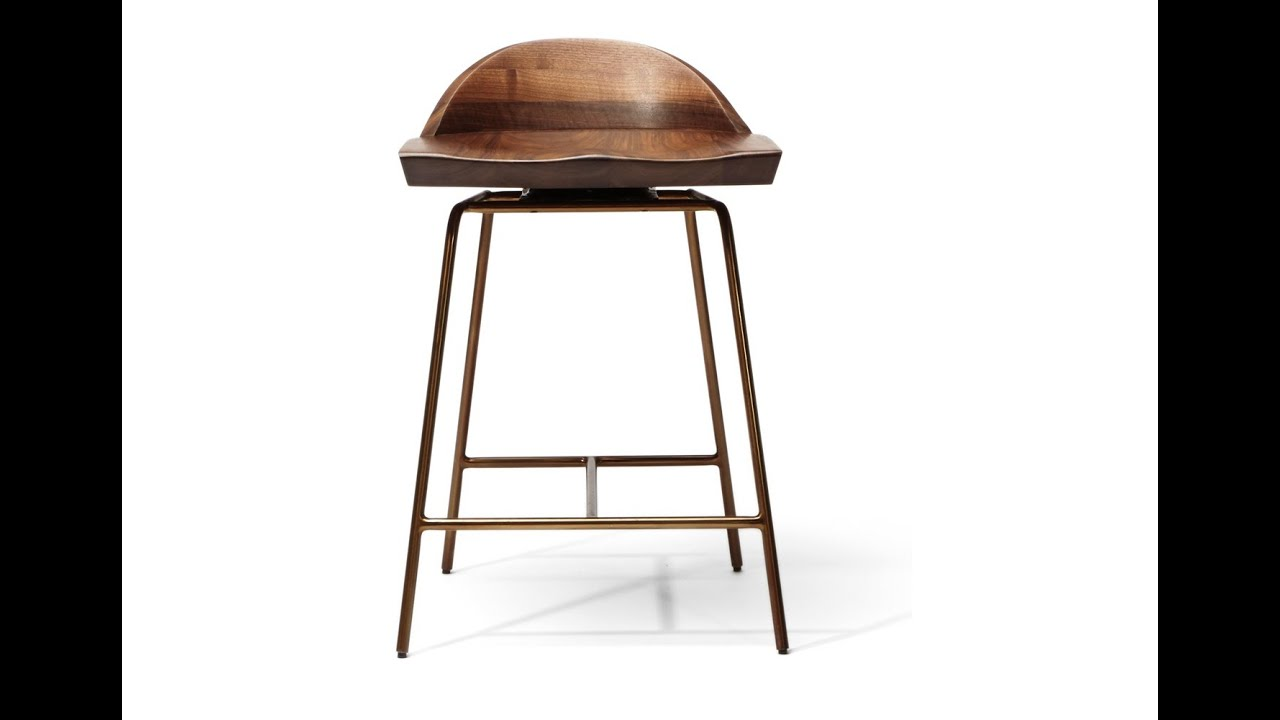 Unique Low Back Counter Stools Idea Youtube