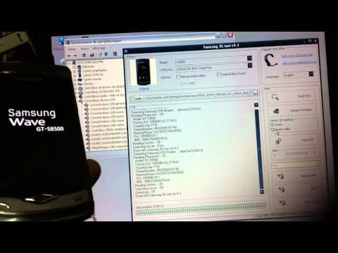 Unlock Samsung Wave S8500 with Z3XBox 2