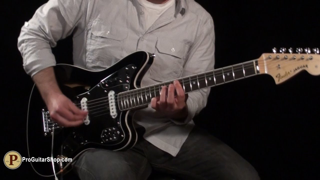 fender special edition jaguar thinline - youtube