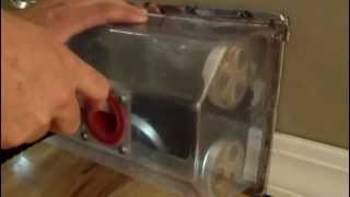 A2Z Duct Cleaning - One Plugged Heat Supply Duct - 612-270-2957
