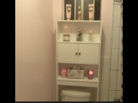 how-to:-toilet-cabinet-(bathroom-space-saver)-from-walmart