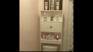 HOW TO: TOILET CABINET (BATHROOM SPACE SAVER) FROM WALMART
