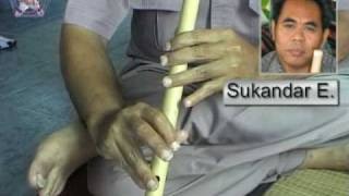 Gambar cover Indonesian Sundanese flute : Kentaar Cisaat song
