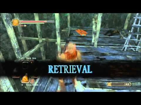 Dark Souls 2 How to Get to the Gutter First Bonfire