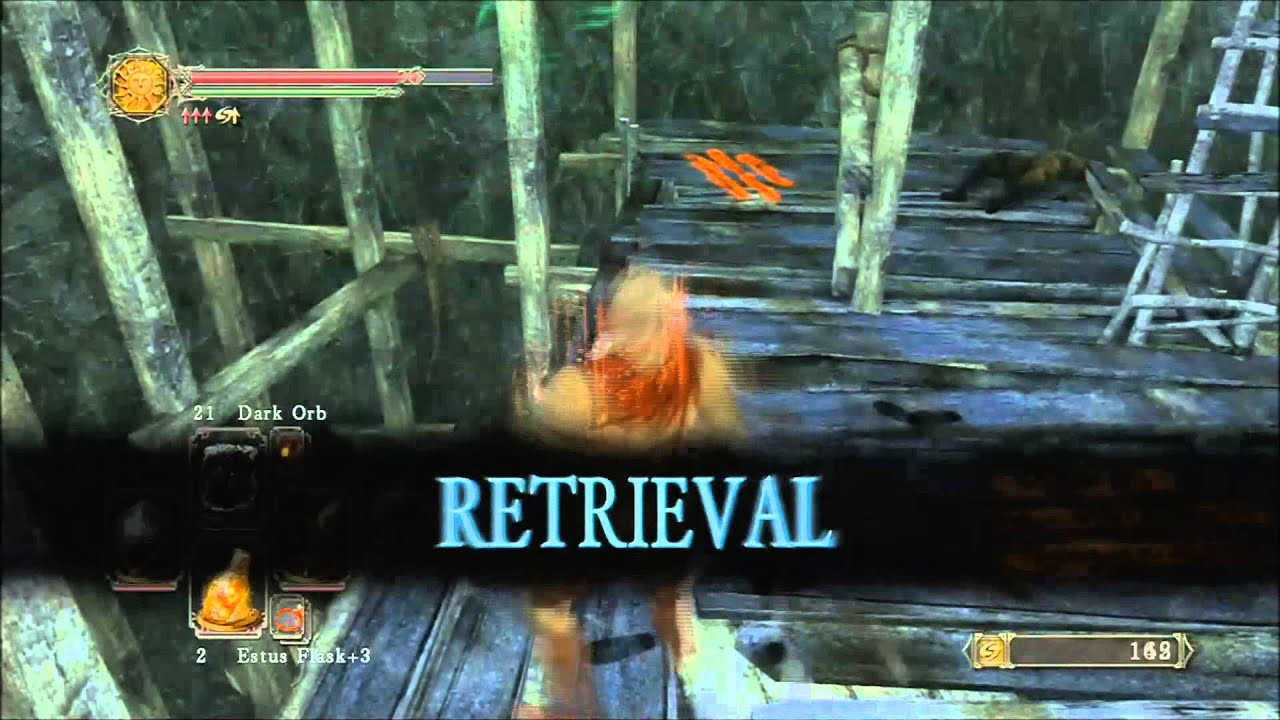 Dark Souls 2 How To Get To The Gutter First Bonfire Youtube