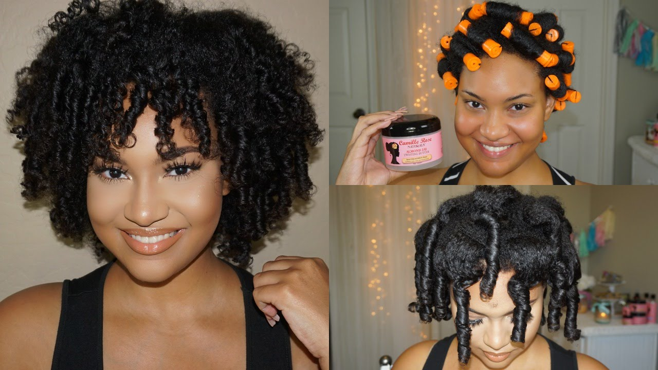 Perm Rods On Natural Hair Wet
