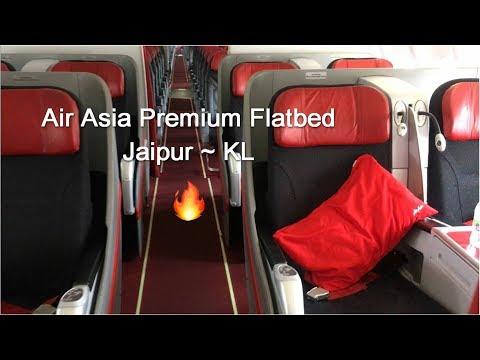 Trip Report: Air Asia  Premium Flat Bed (Business class)Jaipur to Kuala Lumpur D7 185 in A 330-300