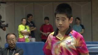 【全農杯 全日本卓球選手権大会 ホープス・カブ・バンビの部】ダイジェスト⑭