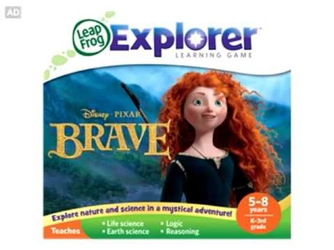 LeapFrog Explorer Game App Trailer - Disney Pixar Brave