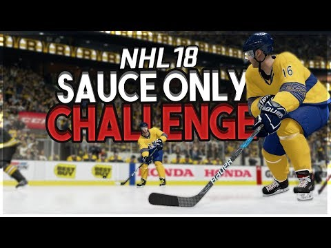 NHL 18 SAUCE ONLY CHALLENGE