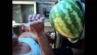 Заправка арбуза водкой