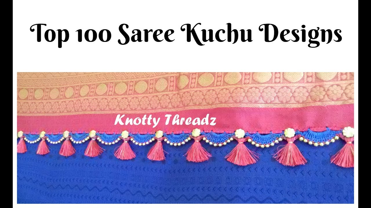 0d72a82ac0485f #sareekuchu | Top 100 Saree Kuchu Designs | Saree Tassels by Knotty Threadz  | www.knottythreadz.com