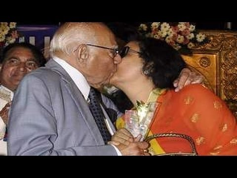Ram Jethmalani Lip Lock Kiss Leena Chandavarkar In