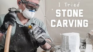 Making a STONE CARVING Video!