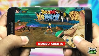 NOVO DRAGON BALL DE MUNDO ABERTO PARA CELULAR - Dragon Ball Strongers Warriors