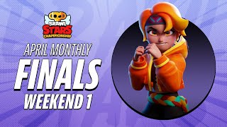 Brawl Stars Championship 2021 April Monthly Finals - Weekend 1 Highlights