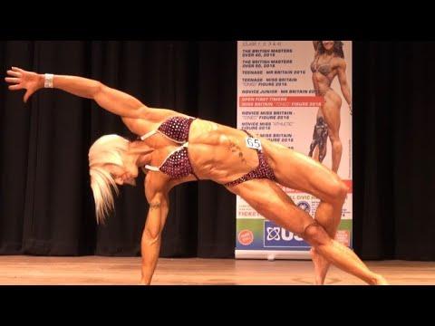 Diane Manning – Competitor No 65 - Miss Athletic Figure Novice - 4k - USN NABBA Novice Finals 2016