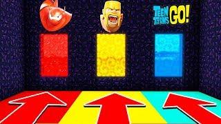 DO NOT CHOOSE THE WRONG PORTAL (BIG HERO 6, CLASH OF CLANS, TEENTITANS GO!)(PS4/XboxOne/PE/MCPE)