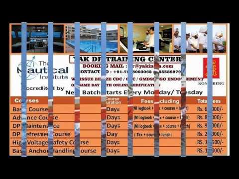 WE PROVIDE DP TRAINING & (DP) HUET Offshore COURSES