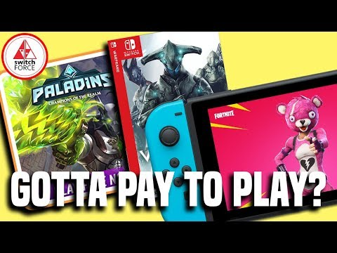 Will Switch Free To Play Games Require You To Pay For Online?
