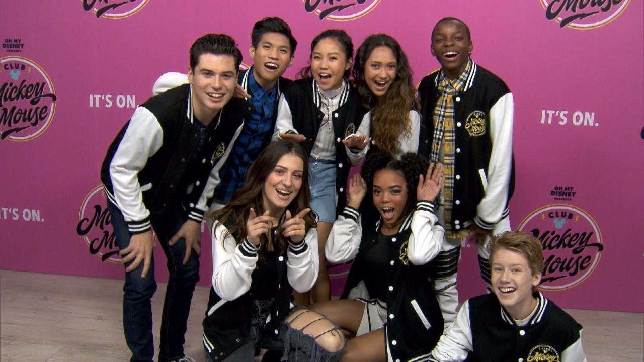 Meet The New Mickey Mouse Club Cast Youtube