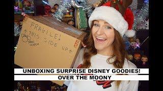 Disney Secret Santa Gift Exchange Unboxing  |  Over The Moony