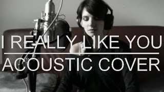 I REALLY LIKE YOU - Carly Rae Jepsen - ACOUSTIC COVER Eric & Gaelle