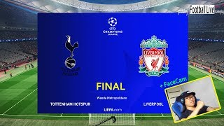 PES 2019  UEFA Champions League Final  Tottenham vs Liverpool  Penalty Shootout