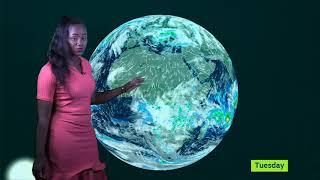 WEATHER FORECAST BY ALITUBEERA JULIET UBC TV 04 02 2020