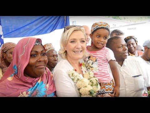 Marine Le Pen au chevet de Mayotte et des Mahorais | Marine 2017