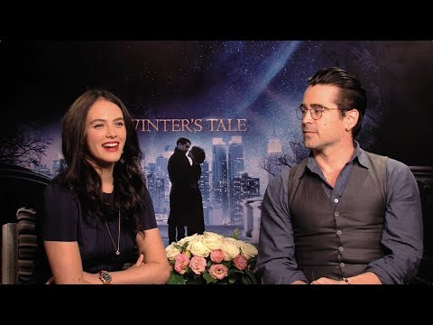 Winter's Tale  Colin Farrell and Jessica Brown Findlay on Romance HD