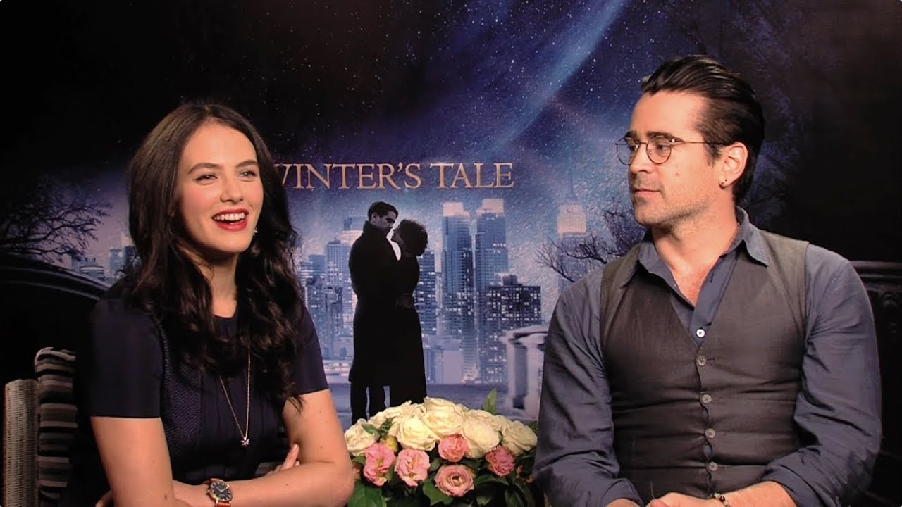 Winters Tale Colin Farrell And Jessica Brown Findlay On Romance