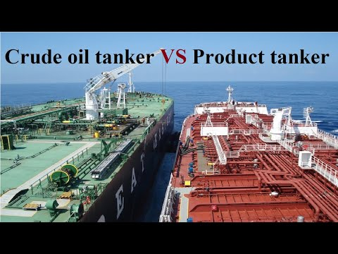 Difference between Crude Oil Tanker and Product Tanker | Imp #CrudeOilTanker #ProductTanker #Tankers