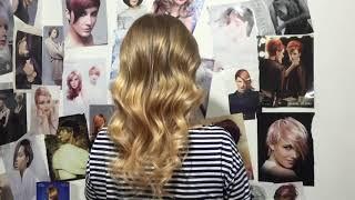 Окрашивание омбре на светлые волосы с рыжеватыми кончиками(Результат окрашивания омбре на очень светлые волосы. Главное пожелание было - сделать рыжеватые кончики...., 2016-02-10T13:24:50.000Z)