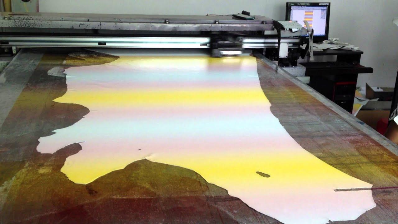 leather printing machine