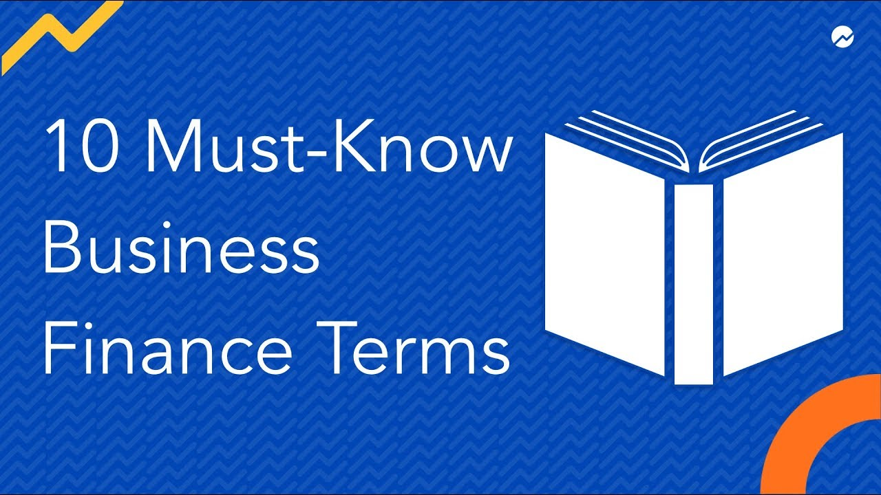 60 Business Finance Terms and Definitions You Absolutely